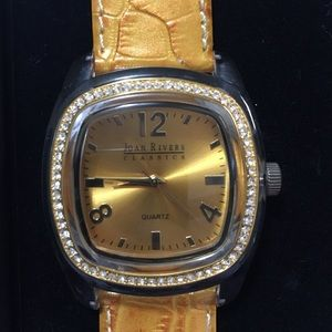 Joan Rivers classics collection wristwatch